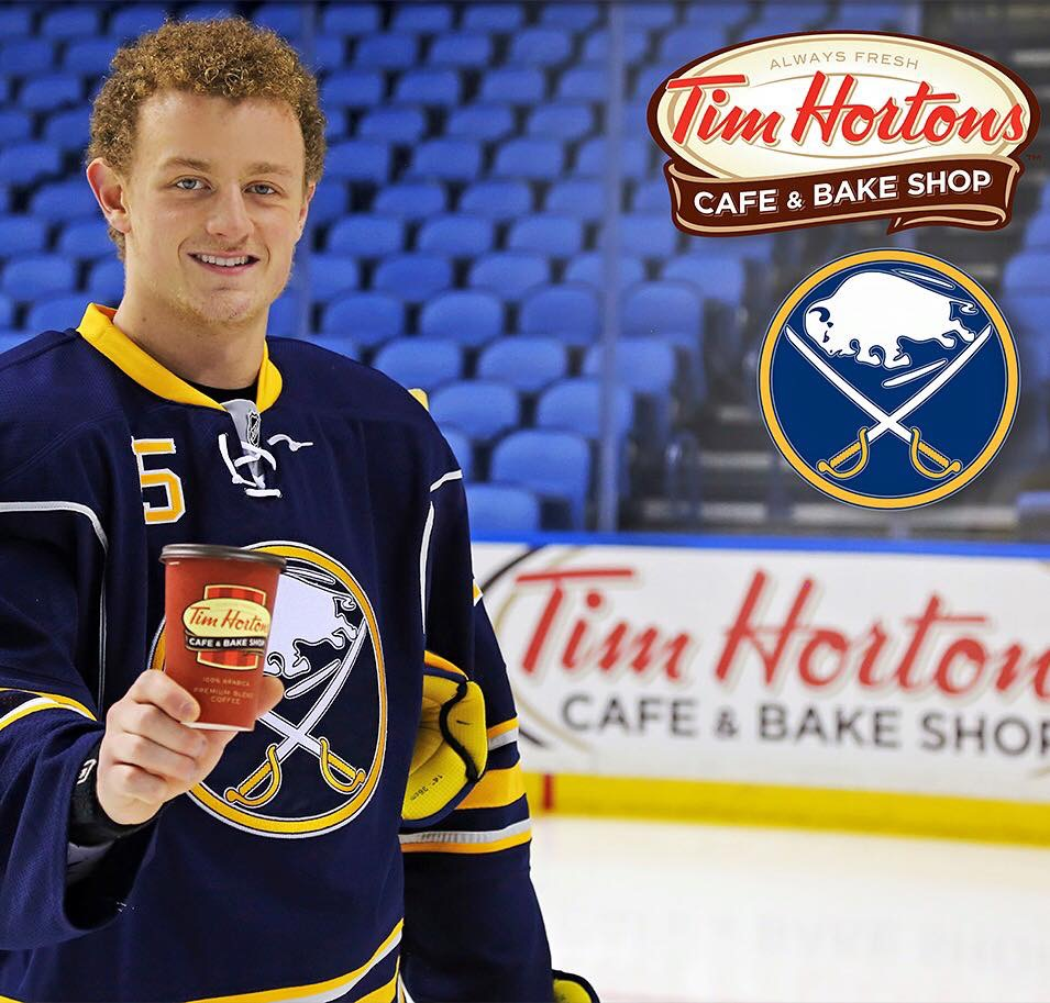 Jack Eichel To Be Tim Hortons Spokesperson