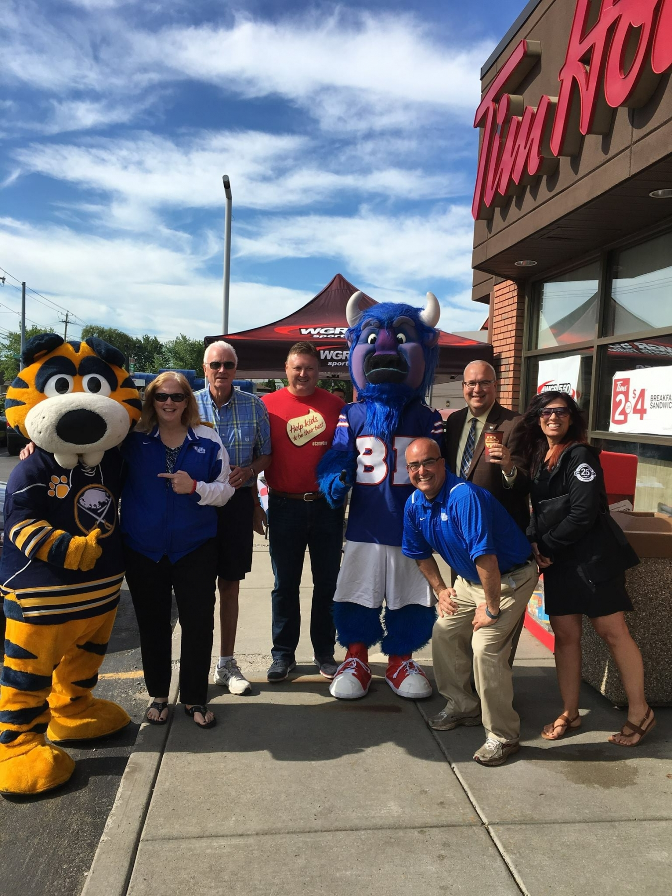 Tim Hortons Camp Day 2016